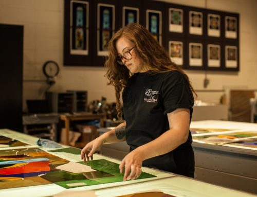 Back to School: How to Become a Stained Glass Artist