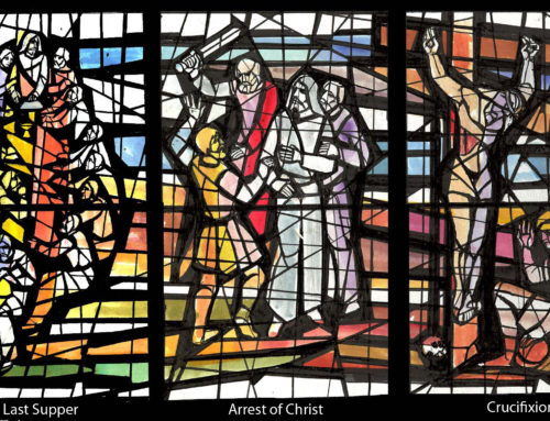 Easter Imagery in Stained Glass